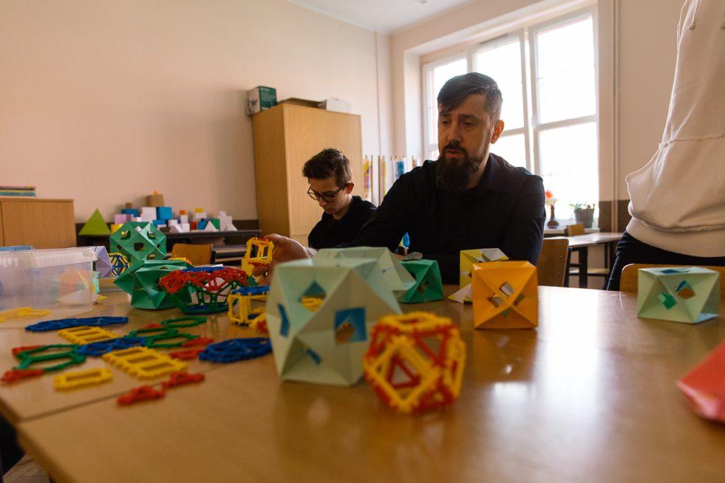 Zajęcia matematyczne z p. Grzegorzem Kogutem